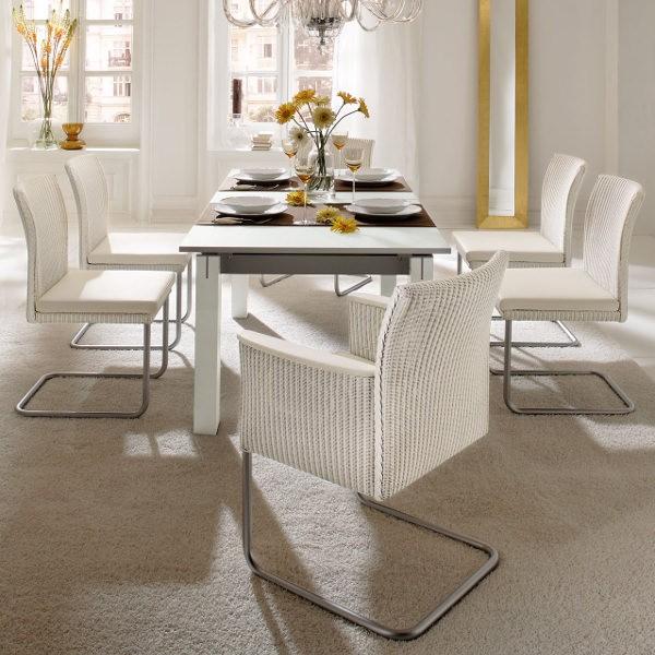 Modern Loom Dining Chair Accente Casino Swing Chair 02 Lloyd Loom