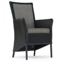 Boston Chair with Arms Seat and Back Cushion