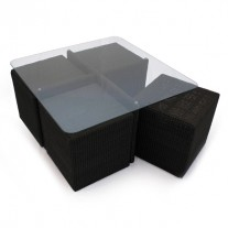 Cordoba Outdoor Cube Table Set