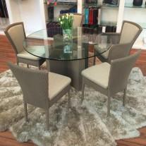 Spirit Dining Table Round Loom