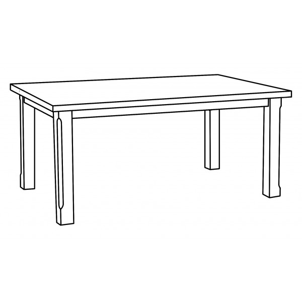 Banbury Table T065 Drawing 6