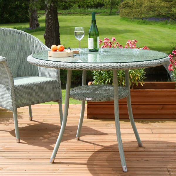 Cordoba Bistro Round 1000 Outdoor Table 3