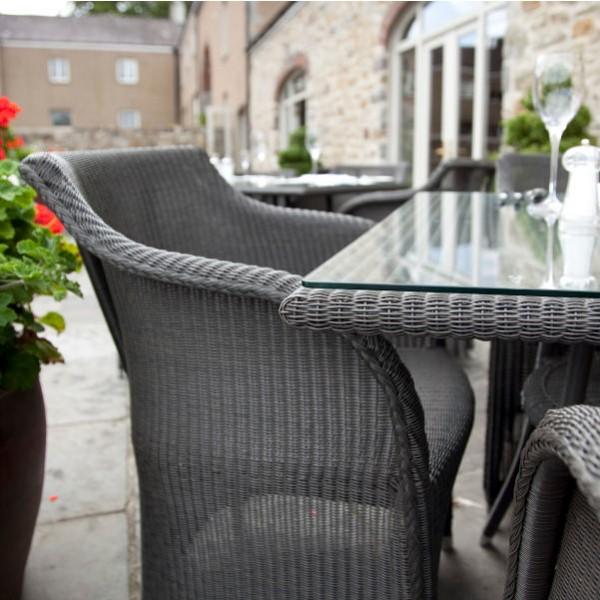 Cordoba Outdoor Square Bistro Table 4