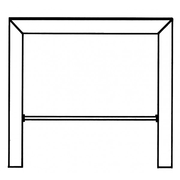 Bridge Bar Table Drawing 13 5
