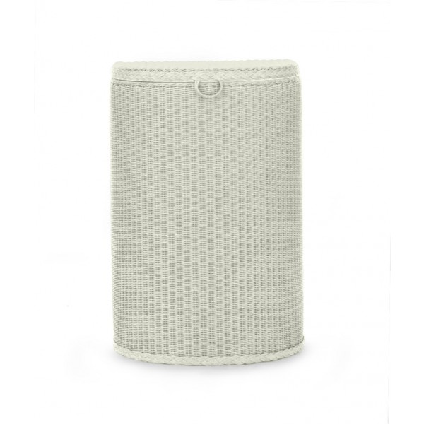 Semi Circle Linen Basket 2