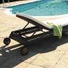 Cordoba Outdoor Sun Lounger 4