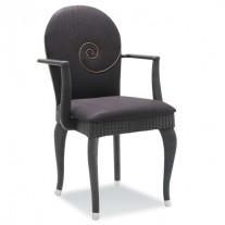 Accente Opera Stuhl mit Armlehnen