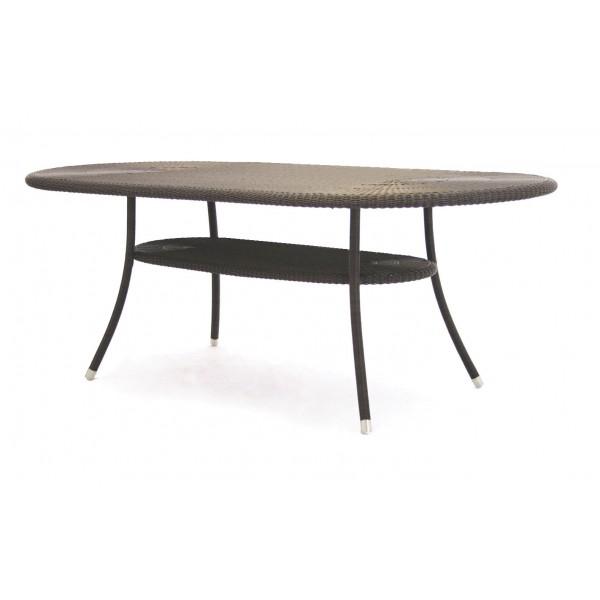 Cordoba Outdoor Oval Table 4