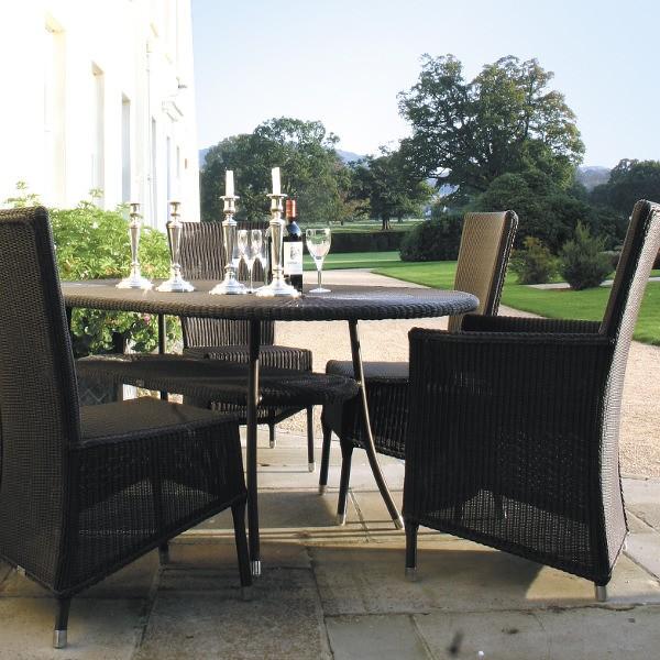 Cordoba Outdoor Oval Table 3