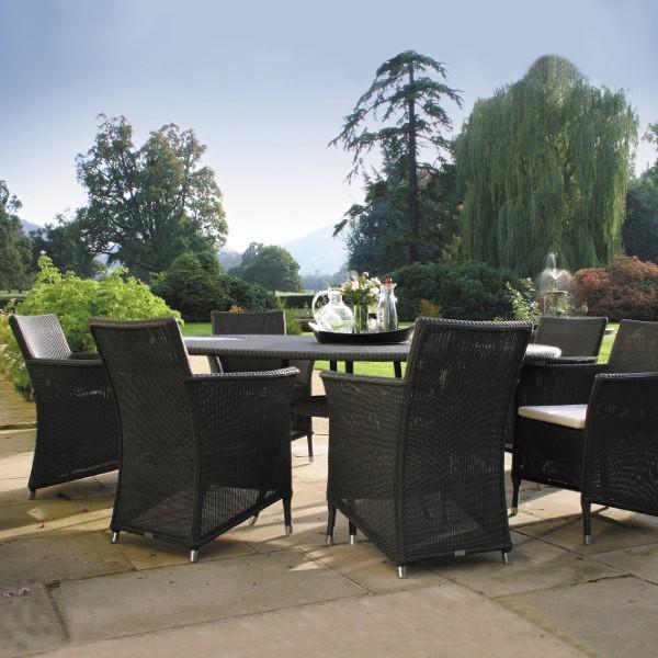 Cordoba Outdoor Oval Table 2