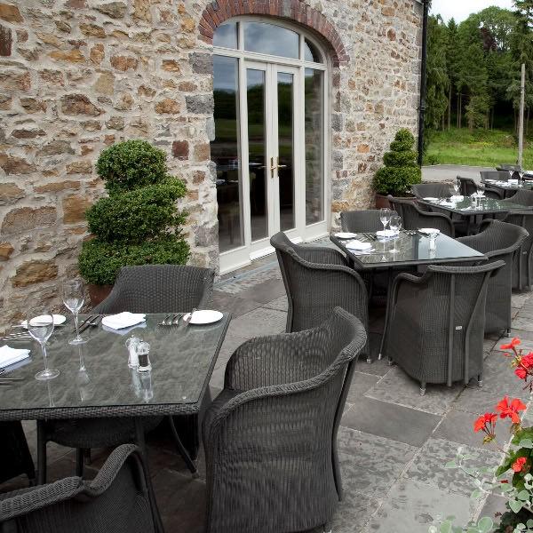 Cordoba Outdoor Square Bistro Table 5