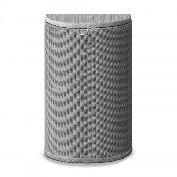 Semi Circle Linen Basket 1