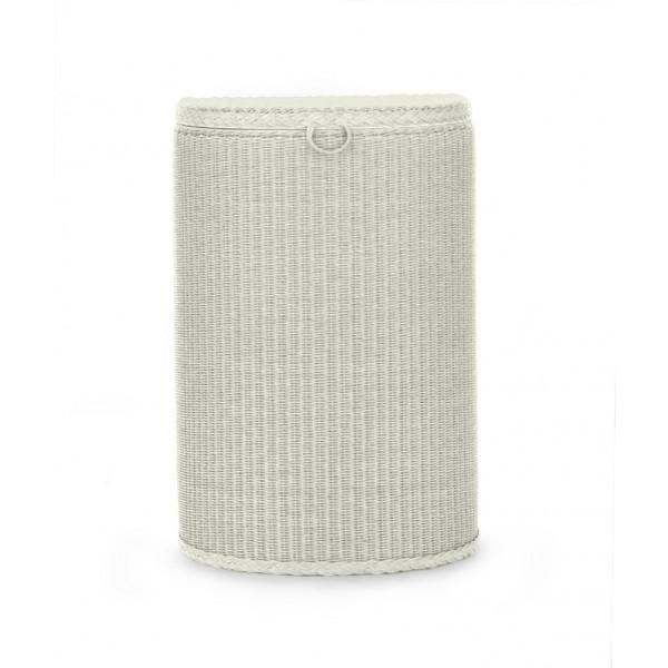 Semi Circle Linen Basket 2