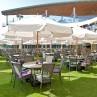 Cordoba Bistro Round 1000 Outdoor Table 6