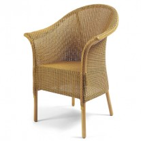 Burghley Chair with Skirt & Flat Seat