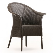Burghley Chair with Skirt & Padded Seat