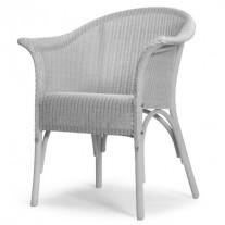 Burghley Sessel mit Unterpolsterten Loom-Sitzfläche